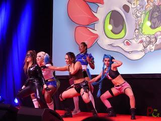 TGS - cérémonie d'inauguration en cosplay